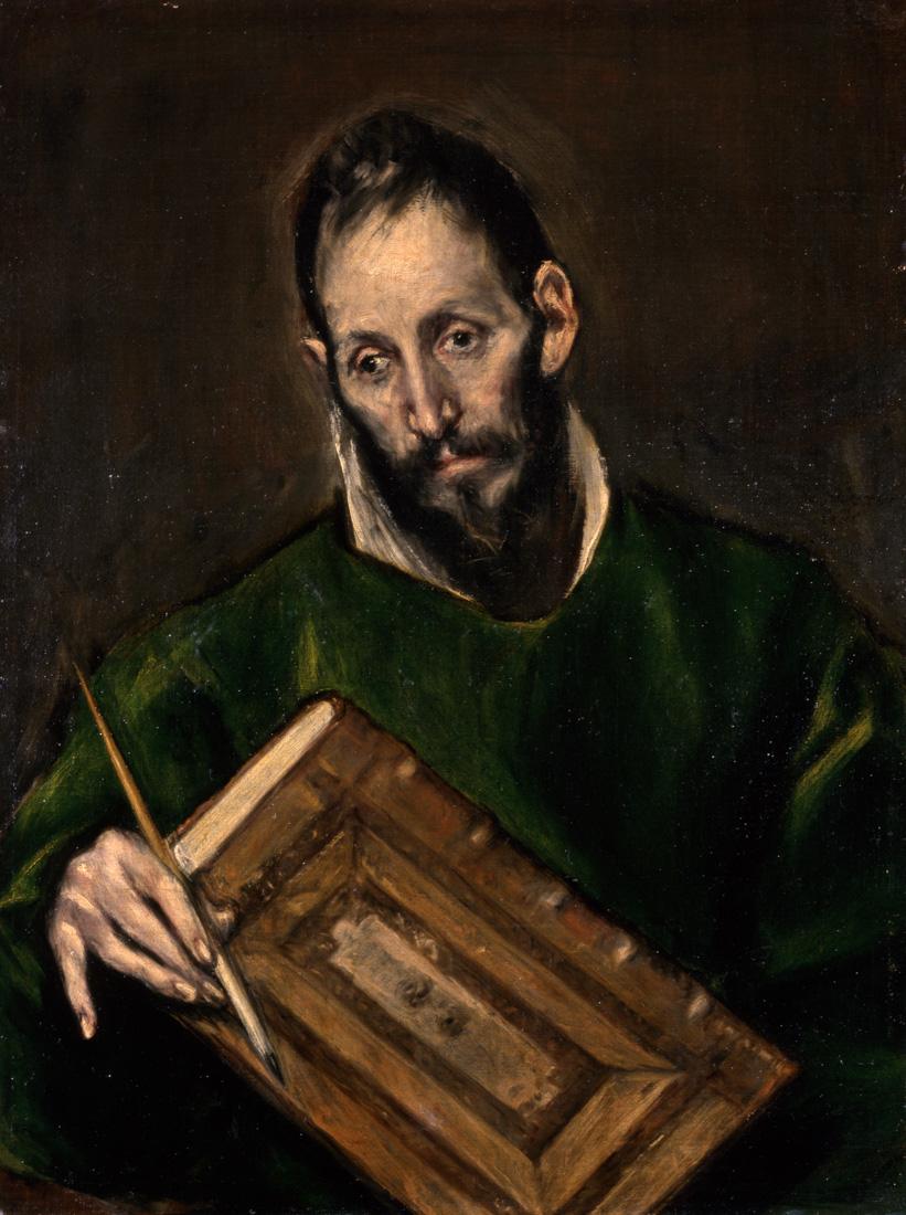 A1894_El Greco, St. Luke