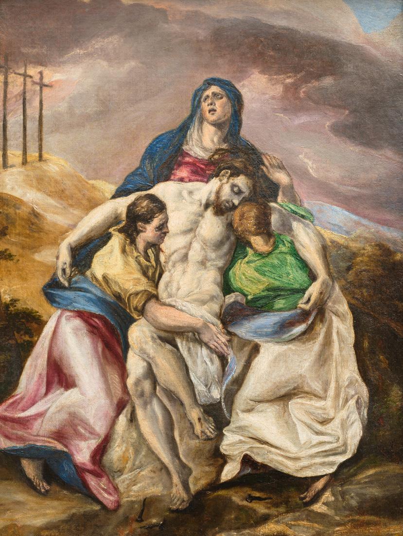 A69_El Greco, Pietà