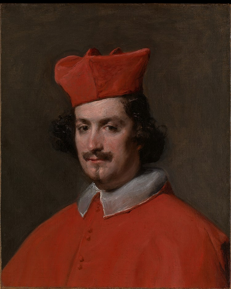 Diego Velázquez, Camillo Astalli, known as Cardinal Pamphili, 1650-1651. Oil on canvas
