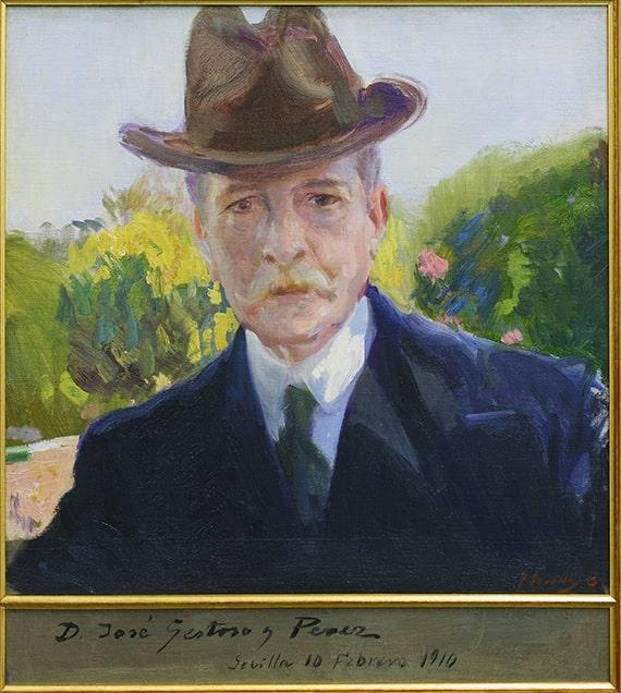 Joaquín Sorolla y Bastida, Juan Ramón Jiménez, 1916. Oil on canvas