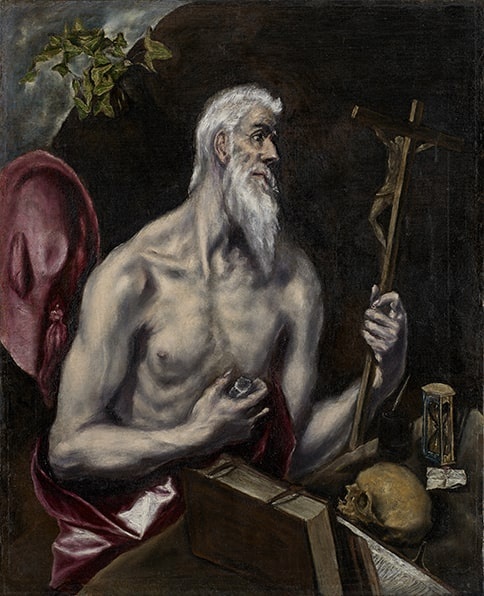 El Greco (Doménikos Theotokópoulos), Saint Luke, 1590's. Oil on canvas