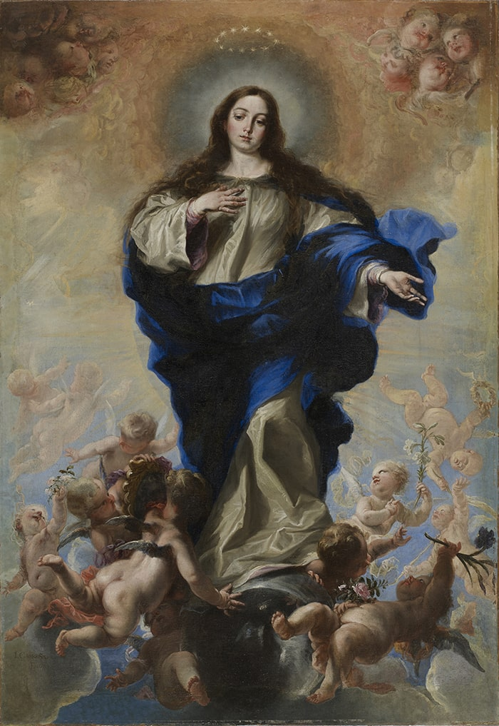 Juan Carreño de Miranda, Virgin of the Immaculate Conception, 1670. Oil on canvas