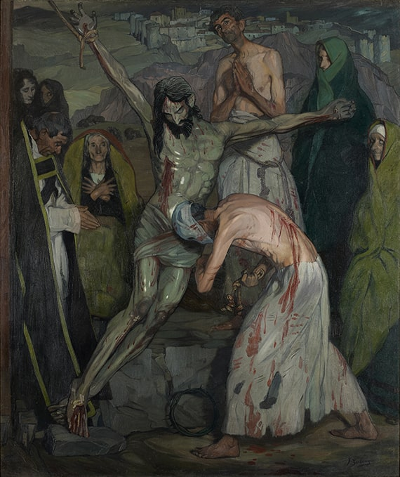 Ignacio Zuloaga, The Penitents, 1908. Oil on canvas