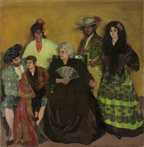 Ignacio de Zuloaga, The Family of the Gypsy Bullfighter, 1903. Oil on canvas