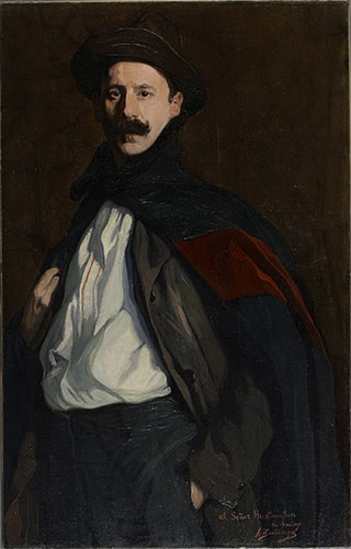 Ignacio de Zuloaga, Self-portrait, 1908. Oil on canvas