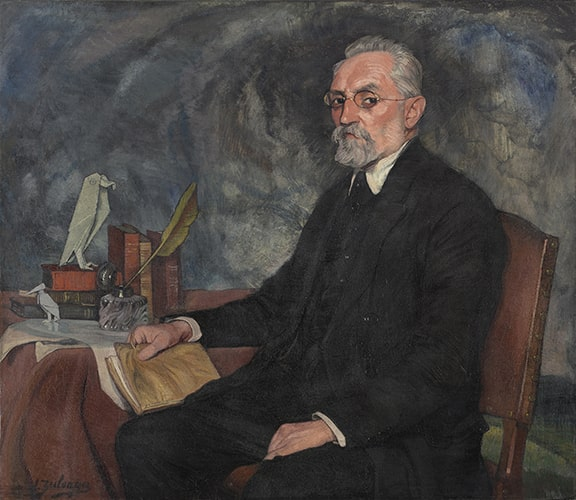 Ignacio Zuloaga y Zabaleta, Miguel de Unamuno, oil on canvas, 1925